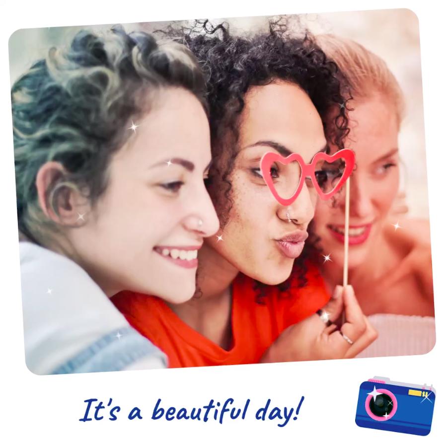 A beautiful moment - VIMORY: Photo Editing & Video Slideshow Making Template