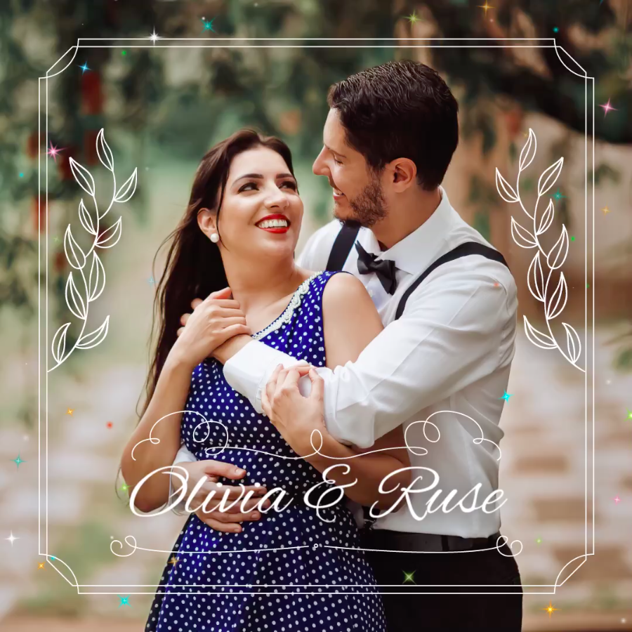 Forever together - VIMORY: Photo Editing & Video Slideshow Making Template