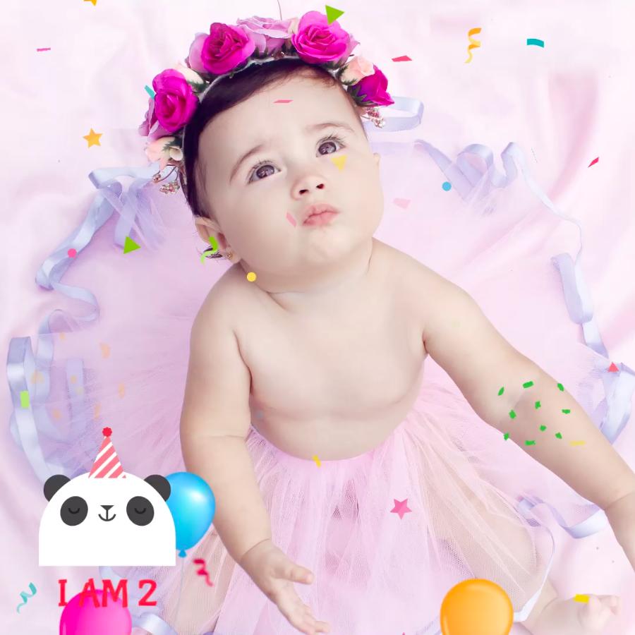 Happy birthday - VIMORY: Photo Editing & Video Slideshow Making Template