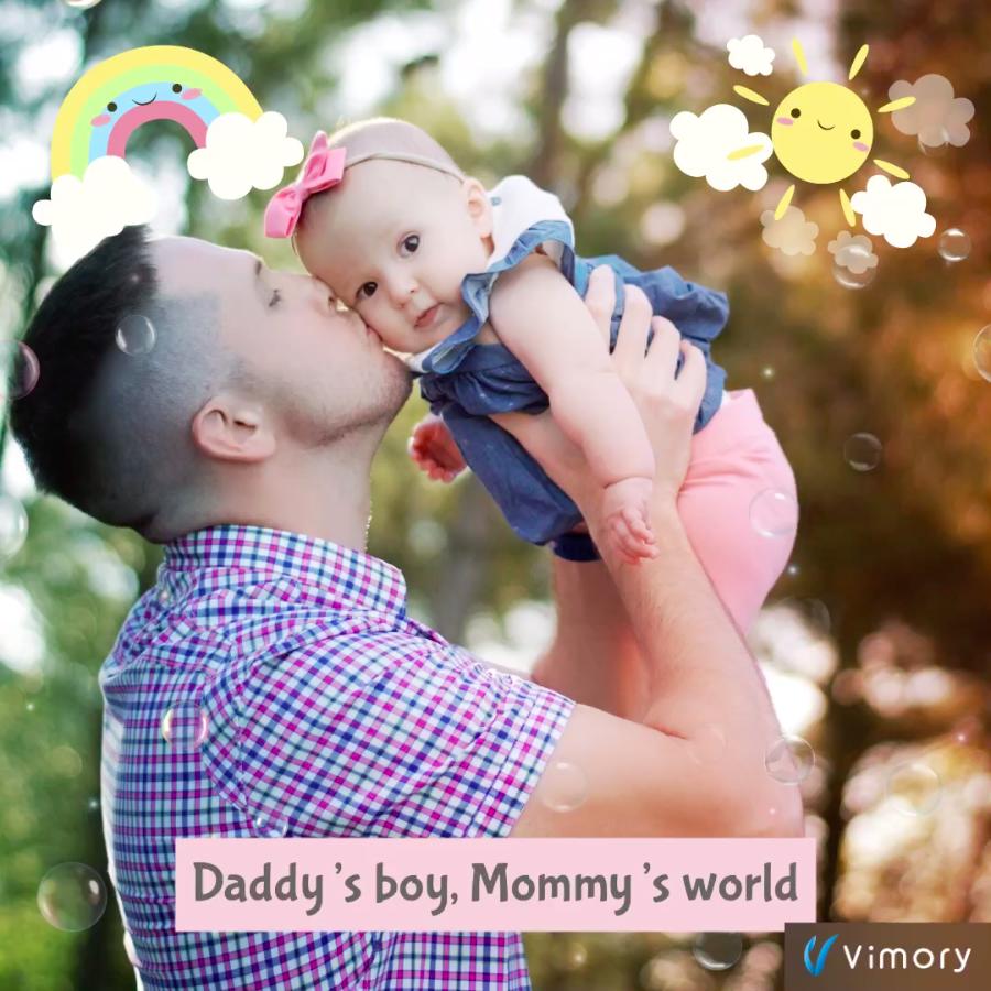 Parents love - VIMORY: Photo Editing & Video Slideshow Making Template