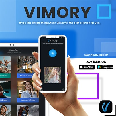 User friendly interface of vimory